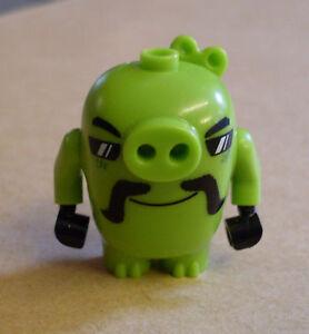 Lego-The-Angry-Birds-Movie-Biker-Pig-75823-cerdo-verde-nuevo