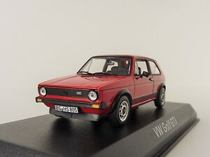 VW-Golf-i-Gti-1976-Rojo-1-43-Norev-840046-Volkswagen-1-Red-Rabbit