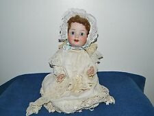 "Antique German Bisque 17"" Character Baby Doll Ernst Heubach Kopplesdorf #300"