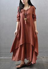 Kaftan Abaya Jilbab Islamic Muslim Women Girls Vintage Party Amira Maxi Dress