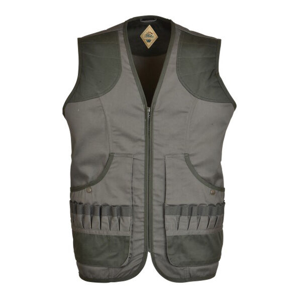 OUgreenURE HUNTING GILET VEST - Shooting Waist Coat 16 Cartridge Holder All Sizes
