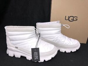 b687bfca8d9 Details about Ugg Australia Centara Boot 1095430 White Waterproof Quilted  Winter Womens WP