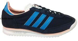 huge selection of 6ff90 236c0 Details zu Adidas SL 72 W Damen Mädchen Schuhe Sneaker Dunkelblau Blau Rose  36 2/3 & 37 1/3