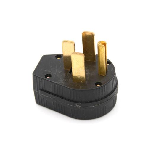 50A 125-250V Industrial Grade NEMA 14-50p Straight Blade US Four Holes  TO