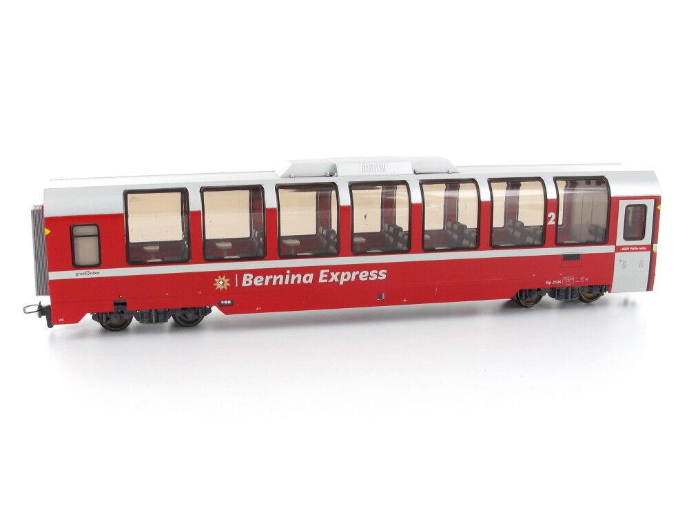 BEMO 3294146 vagoni BP 2506 Panorama AUTO Bernina-Express 2.kl. RHB h0m