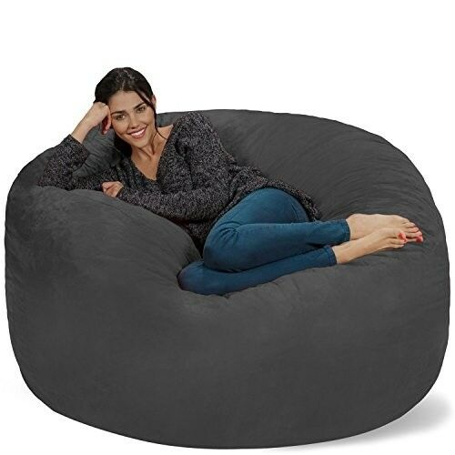 Amazing Sack Like Chair Chill Bean Bag Cozy Relax Comfy Foam Giant Big Calm Chilling New Evergreenethics Interior Chair Design Evergreenethicsorg