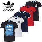 Adidas Originals Trefoil Essential Mens Retro California Crew Neck T-Shirt S-XL