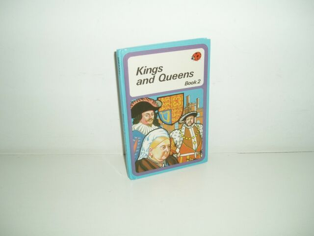 """Vintage ladybird book """"King and Queens"""" Book 2. Revised Edition. 1981."""