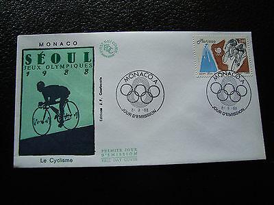 cy31 100% Wahr Monaco Tag 8/9/1988 Umschlag 1