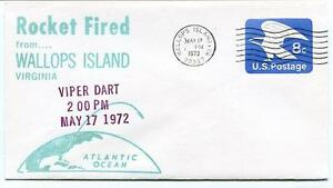 1972 Wallops Island Rocket Fired Viper Dart Wff Goddard Base Nasa Virginia Avec Des MéThodes Traditionnelles