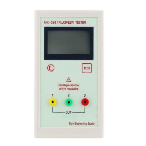 Clip 2019 MK-328 Diode Triode Capacitance Transistor \LCR\ESR Tester Meter