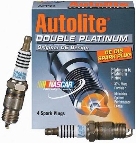 Autolite Double Platinum Spark Plugs MPN APP5263 Package of 4 Spark Plugs