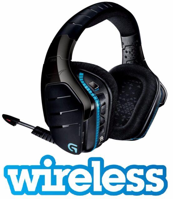 LOGITECH G933 ARTEMIS SPECTRUM 7.1 WIRELESS GAMING HEADSET HEADPHONES PS4 XBOX
