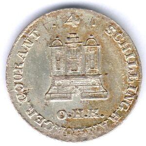Hamburg-Stadt-4-Schillinge-1797-O-H-K-Silber-fast-vz-st