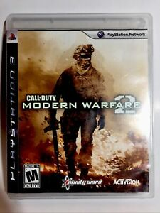 Call of Duty: Modern Warfare 2 PlayStation 3 2009 Complete Tested