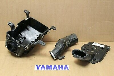 Yamaha RAPTOR 660 Air box Intake Tubes manifold tubes snorkels 2001-2005 OEM