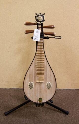 Liuqin - Chinese Soprano Pipa Lute Guitar Dunhuang Musical Instrument