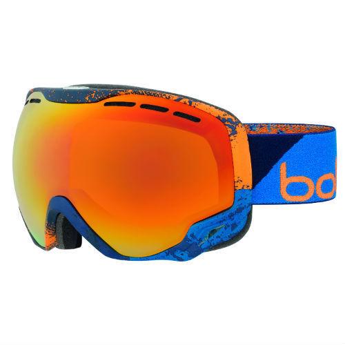 Bolle Emperor Ski Goggles   Triple Foam Double Lens Anti Fog Anti Scratch
