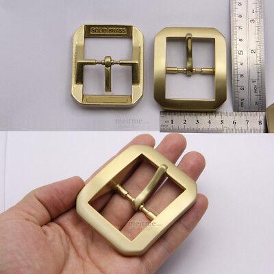 """Solid Brass Roller Belt Buckle cowboy Classic Belt Buckle 1 1//2/""""38mm Heavy Duty"""