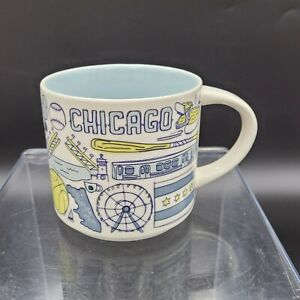 Starbucks Chicago Been There Series Across the Globe Collection Coffee Mug 2018