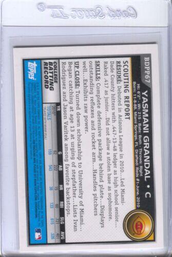Yasmani Grandal Pop-Up List 2010 2012 2013 Bowman Cards Qty Disc 40/%-60/%