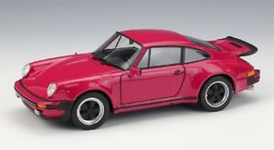 Welly-1-24-1974-Porsche-911-Turbo-Red-Diecast-Model-Sports-Racing-Car-New-in-Box