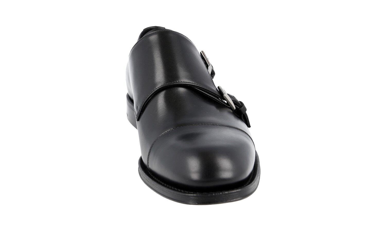 SCARPE PRADA LUSSO 2OB033 NERO NUOVE 10 44 44,5 Scarpe classiche da uomo