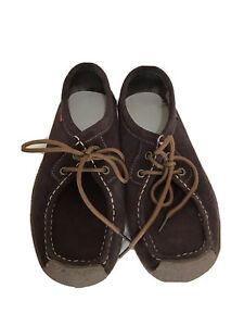 Sanearda Womens Moccasin Loafers Brown