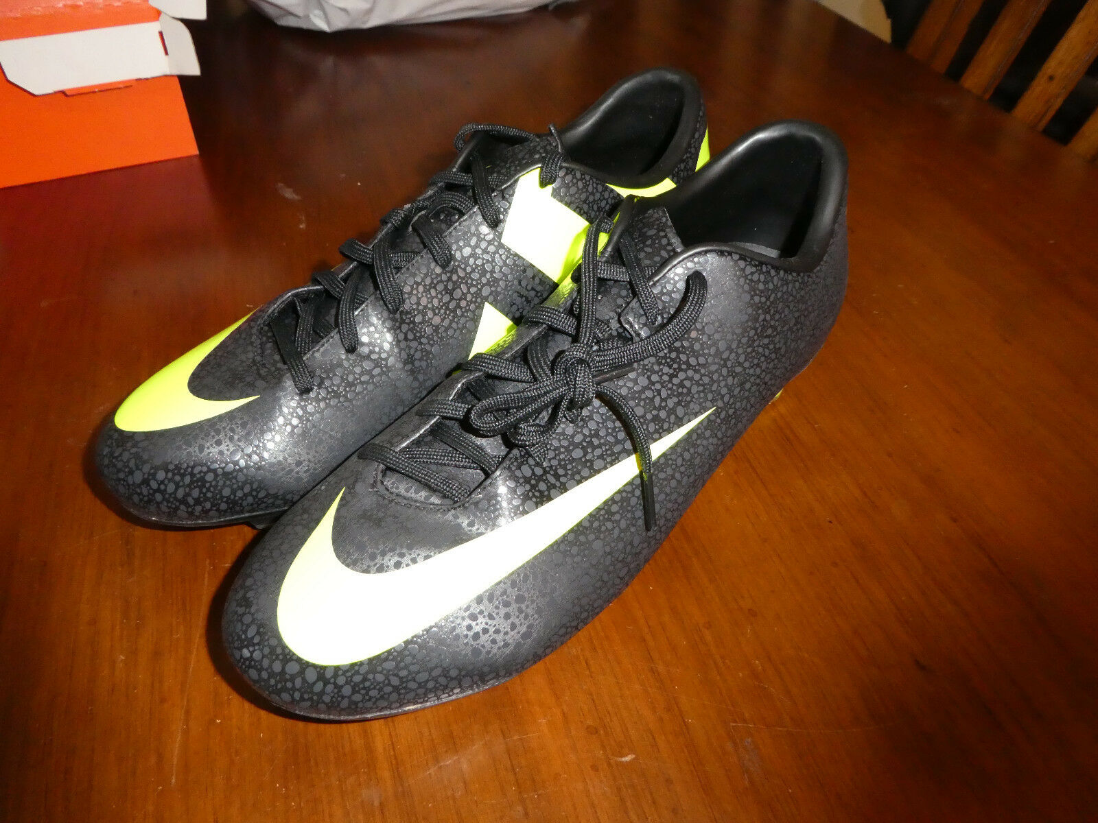 Nike Mercurial Miracle II FG Soccer Cleats new shoes 442047 070 Renaldo