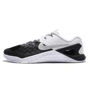 1c7811be78baa Details about Men's NIKE Metcon 3 TRAINING Shoes Size 7-15 Black / White  (852928 005)