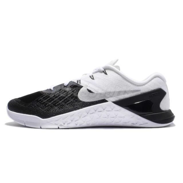 buy popular e5d98 a0a5e Mens NIKE Metcon 3 TRAINING Shoes Size 7-15 Black  White (852928 005