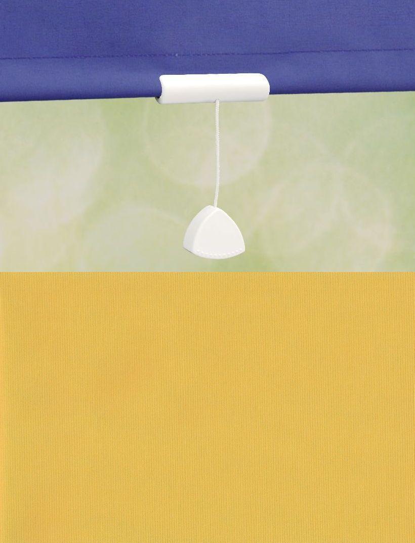 Mittelzugrollo Schnapprollo Springrollo Fenster Tür Tür Tür Rollo Jalousie Gelb 60-240cm | Produktqualität  407a8d