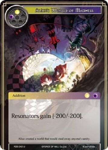 4X Alice/'s World of Madness Uncommon RDE-042-NM FoW Return of Dragon Emperor