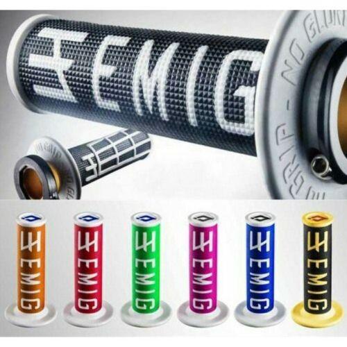 ODI HANDLE BARS /& GRIPS  EMIG V2 LOCK ON GRIP BLACK WHITE H36EMBW