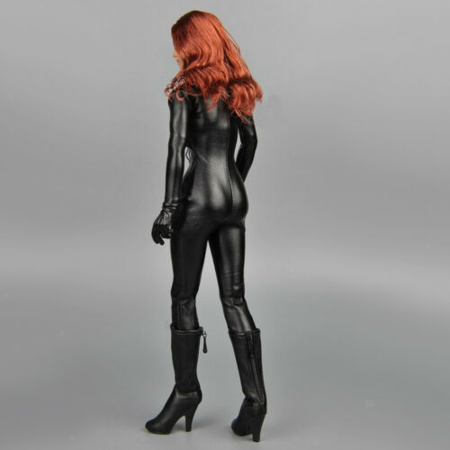 1 Set 1//6 Jumpsuits Corset 1Pair High Heels for 12in Female Figures Hot Toys