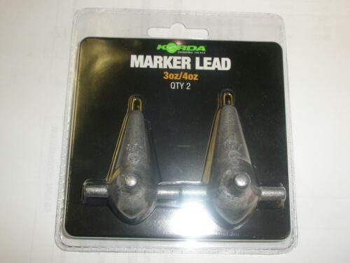 Korda Marker Lead Con Spina 2pk tutte le varietà Carp Fishing Tackle