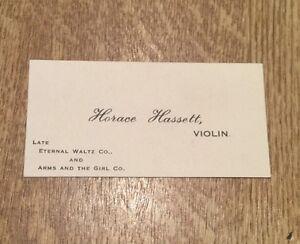 c1900-Horace-Hassett-Violin-Eternal-Waltz-Company