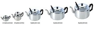 Everyday-Large-Aluminium-Easy-Grip-Handle-Teapot-Home-Office-Catering-Pot