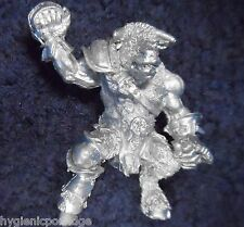 1989 Chaos Bloodbowl 2nd Edition Minotaur Player 3 Citadel All Stars Big Guy NAF
