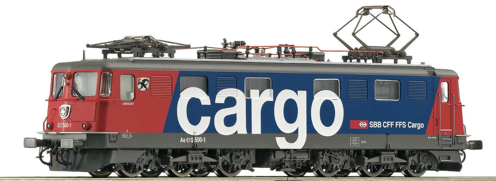 "Roco 52662 - Elektrolokomotive Ae 610 500-1, SBB Cargo, Mit Wappen ""Landquart"","