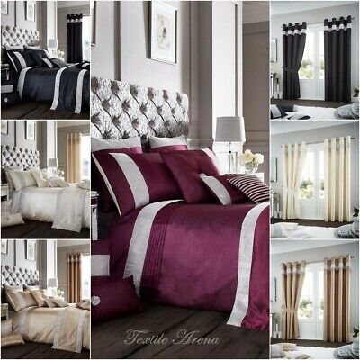 Oxy Diamante Luxurious Duvet Cover Sets / Curtains / Cushion Covers / Door Panel Uitstekend In Kusseneffect