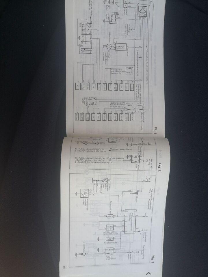 Instruktionsbog, Toyota Starlet instruktionsbog