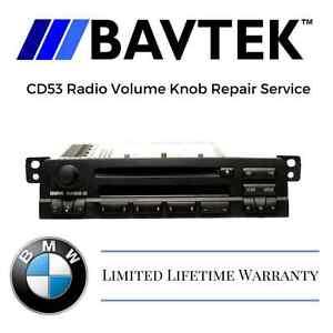 Bmw E46 Cd53 Business Cd Player Radio Volume Knob Control