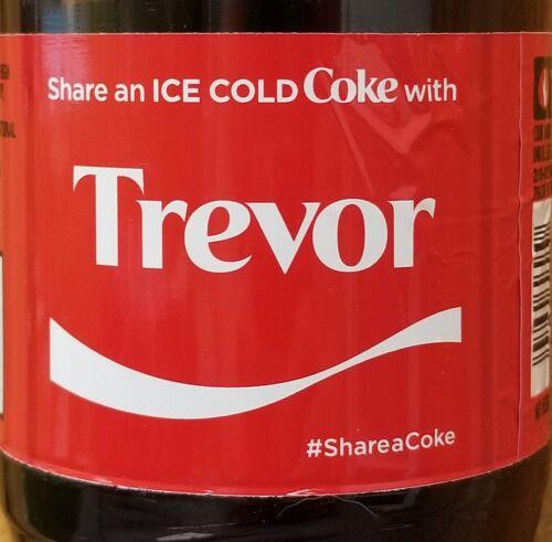 Summer 2017 Share A Coke With Trevor 20 Oz Coca Cola Collectible Bottle