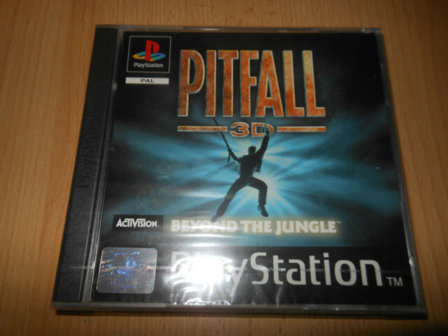 Sony PS1, Pitfall 3D Beyond The Jungle, Playstation 1, NEW SEALED pal