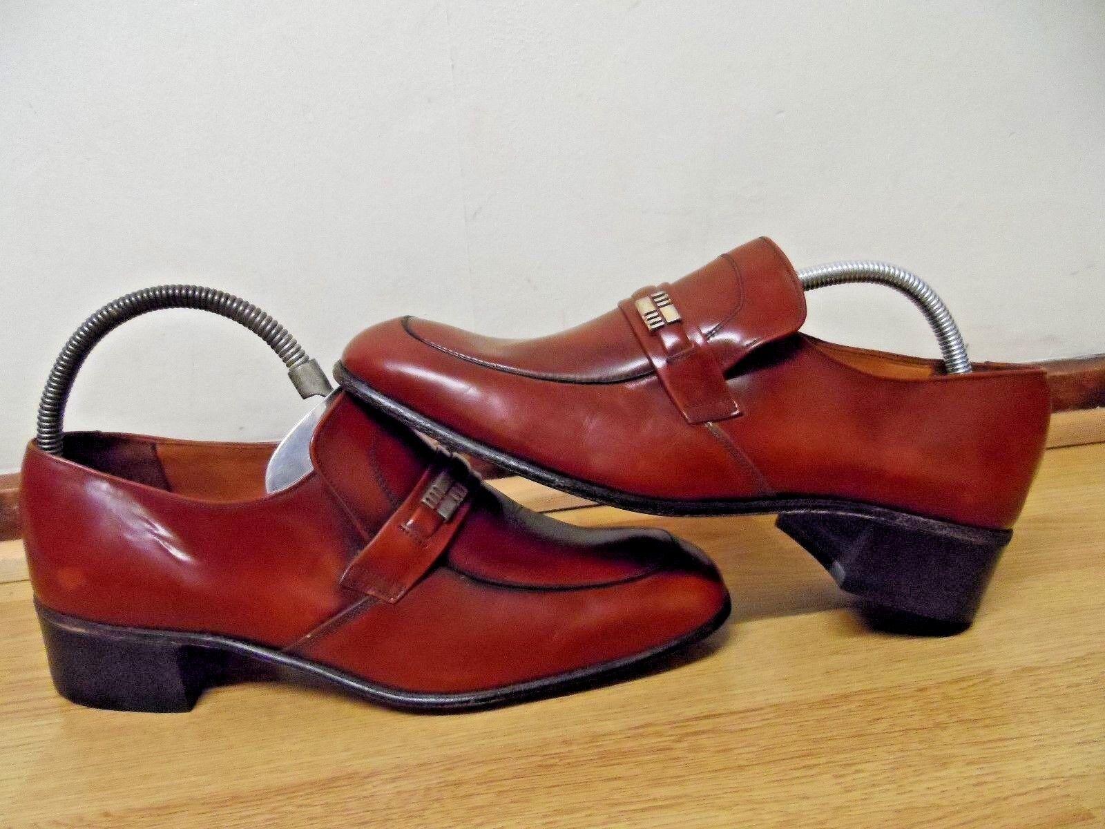 STEWARTS NORTHAMPTONSHIRE ENGLAND ( CAVALIER )   / Herren BROWN Schuhe 9.5 /  EUR 43.5 402853