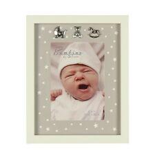Bambino Baby Hospital Bracelet Keepsake Photo Frame 3 Silver Icons