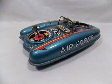 1950s FLYING AIR FORCE JEEP - DAIYA - JAPAN Tin Toys Vehicles SPACE