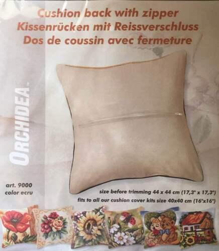 Approx 40x40cm Orchidea Cushion back with zipper cushion back