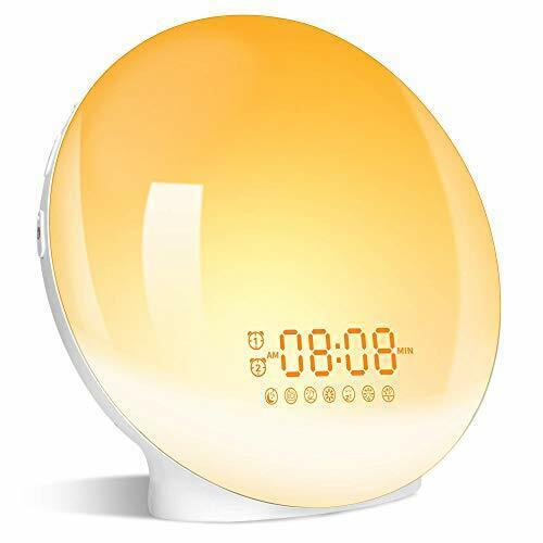 Grde Wake Up Light Alarm Clock With Sunrise For Sale Online Ebay